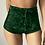 Thumbnail: S-Xl Women Velvet Drawstring Shorts Plus Size Casual High