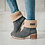 Thumbnail: Women Winter Fur Warm Snow Boots Ladies Warm Wool