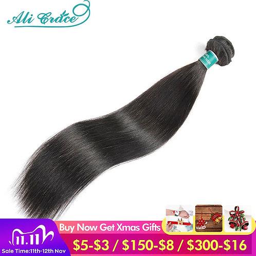 ALI GRACE Hair Brazilian Straight Hair Bundles 1/3/4 Pcs Straight