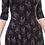 Thumbnail: Sourpuss Scorpion 3/4 Sleeve Skater Dress