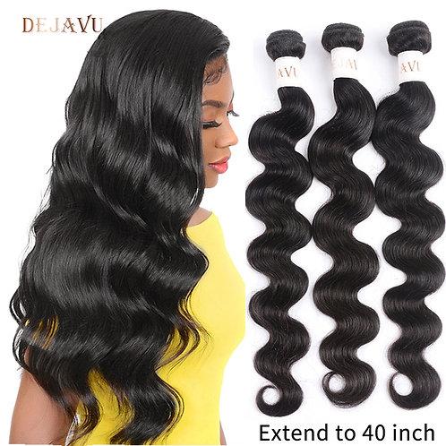 Dejavu Body Wave Bundles Remy Hair 3 Bundle Deal Peruvian Hair 30 40 Inch