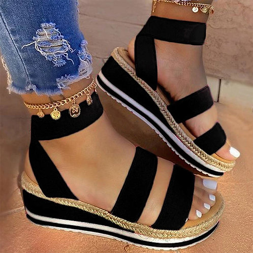Sandals Women 2020 Slip on Platform Femmes Sandales