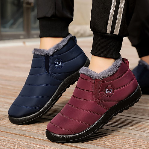 Woman Snow Boots Plush New Warm Ankle Boots for