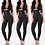 Thumbnail: New Style Fashion Women Solid Fitness Leggings Ankle Length