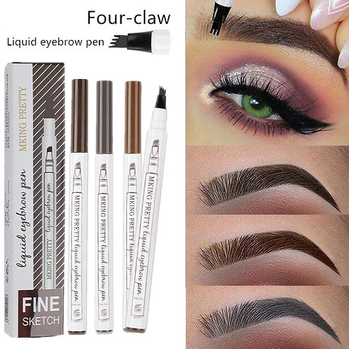 Waterproof Natural Eyebrow Pen Four-Claw Eye Brow Tint