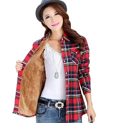 2019 Winter Warm New Women Velvet Thicker Jacket Brand