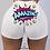 Thumbnail: New Summer Women Shorts High Waist Snickers Print