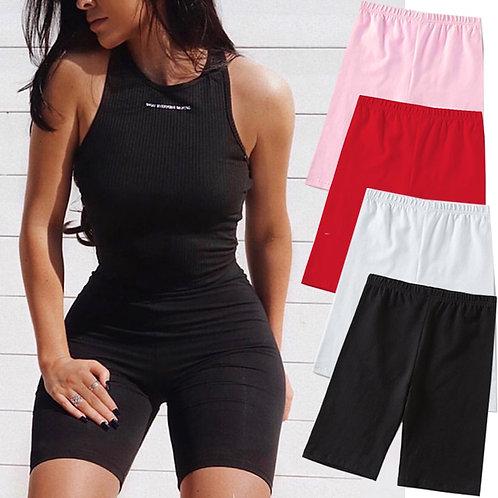 2020 Summer Fashion Shorts Women Sexy Biker Shorts Fitness