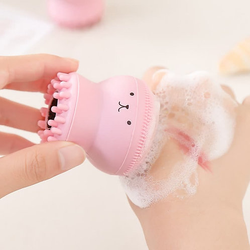 Silicone Face Cleansing Brush Facial Cleanser Pore Cleaner