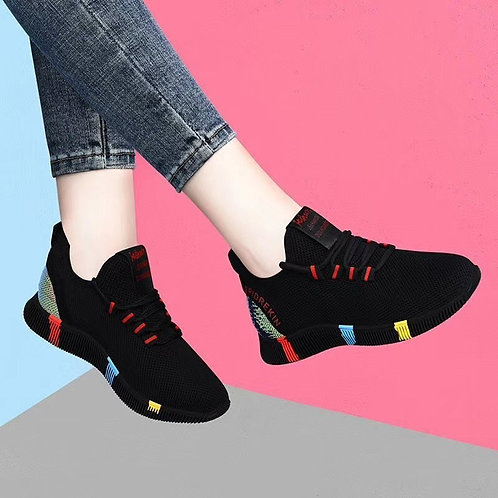 2020 New Spring Women Casual Shoes Breathable Mesh
