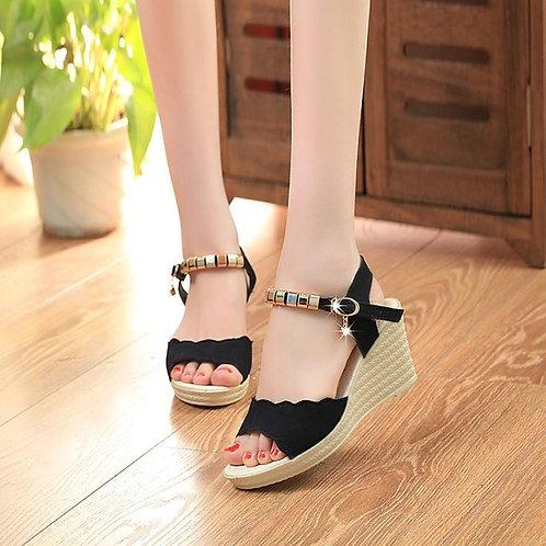 Summer Fashion High Heels Sandals  Women Fish