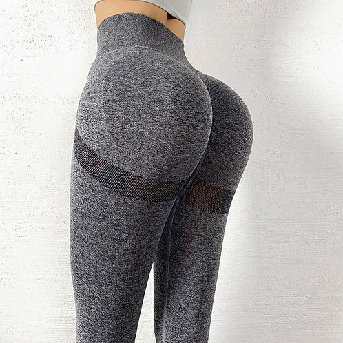 Seamless Leggings Bubble Butt Sport Women Fitness Gym