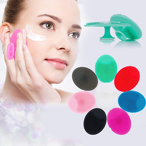 Silicone Face Cleansing Massage Brush Deep Cleansing Skin