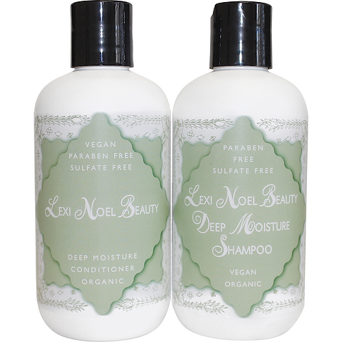 Lexi Noel Beauty Organic Vegan Shampoo and Conditioner Set