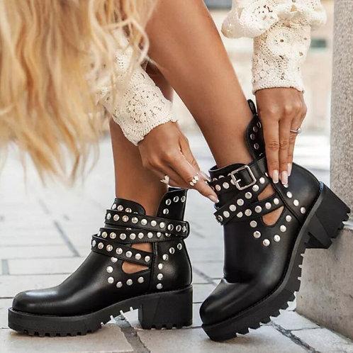 On Sale 2020 High Quality Platform Square Heels Fashion