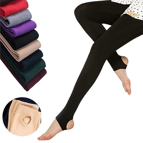 2020 Autumn Winter Woman Thick Warm Leggings