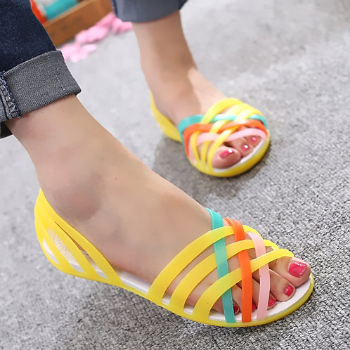 Jelly Sandals Women Sandals Women Clogs Women Flats