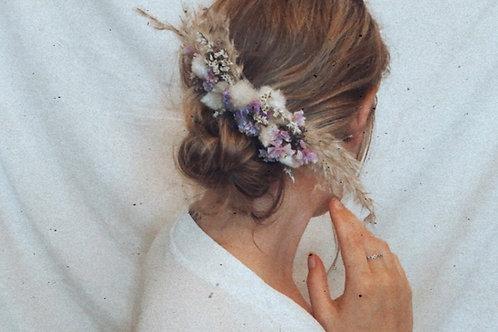 Dried Floral Hair Slide