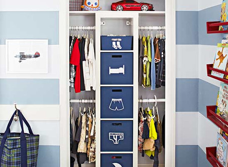 Day 8: Kids Dresser and Closet