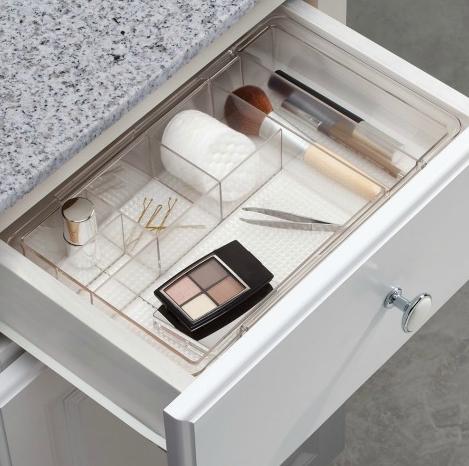 Bathroom drawer organization drawer divider