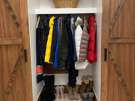 Day 2: Coat Closet