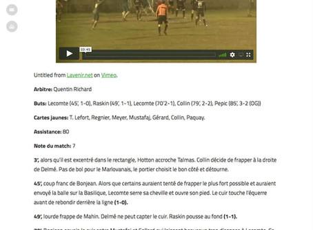 P1: St Hubert 3 - 2 Marloie