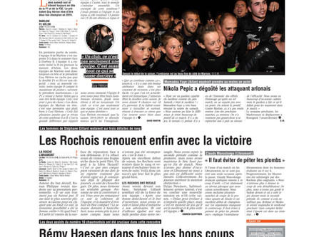 """Article """"La Meuse"""" - Le doublé en ligne de mire"""