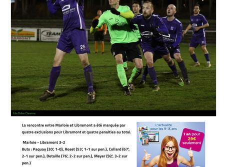 Marloie 3 - 2 Libramont