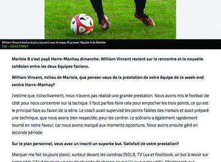 Interview de William Vincent