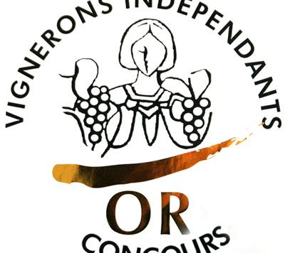 Deux médailles d'or au concours des vignerons indépendants de France & Prix coup de coeur au