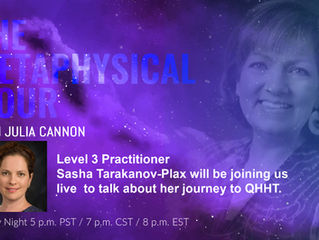 Interview with Julia Cannon on Metaphysical Hour