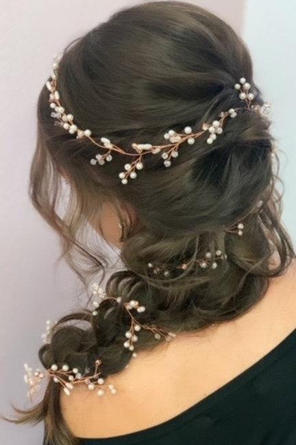 Rose Gold Hair Vine
