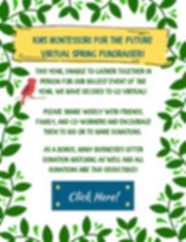 Kenosha Montessori School Springtide Fly