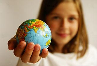 crianças e o mundo