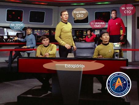 O que Star Trek me ensinou sobre liderança em Startups - Parte I