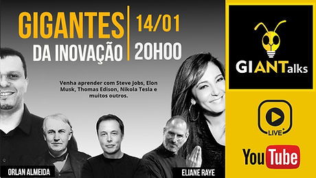 Orlan Almeida Eliane Raye Steve Jobs