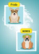 jogo freemium de cachorro com avatar e acessórios
