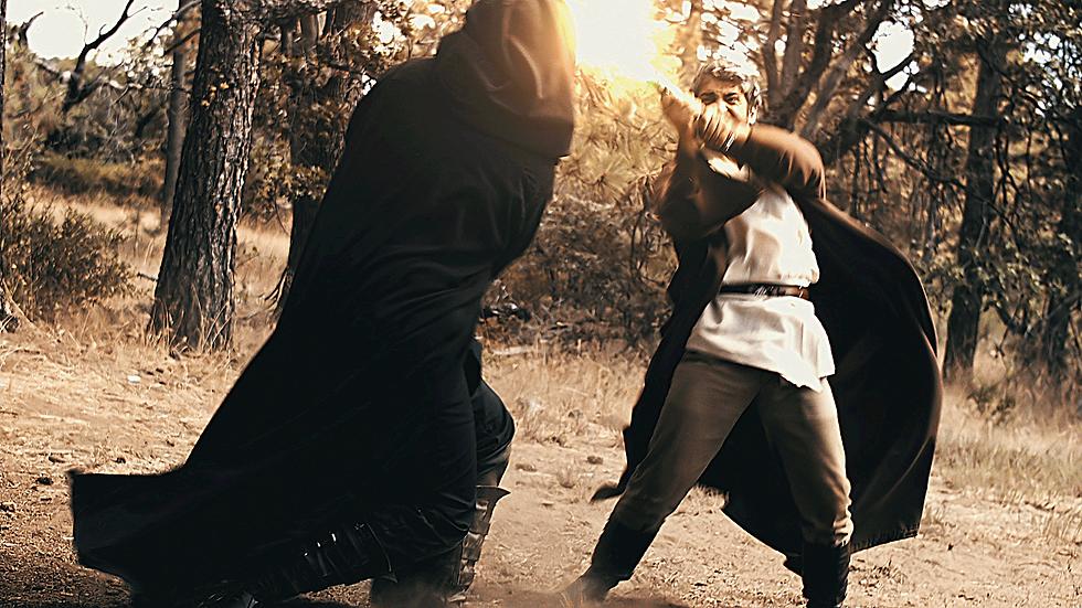 Vycus & Raven - Lightsaber Battle - 2