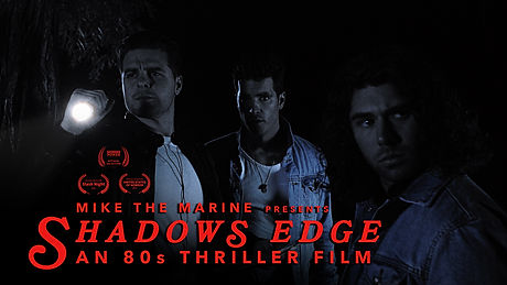 Synopsis Shadow's Edge is the story of three irreverent rebels, Mike, Johnny, and Jay, who plan to exact revenge against a common enemy...