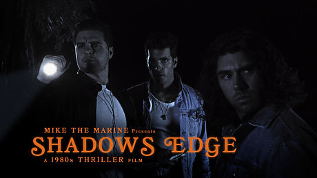 Synopsis Shadow's Edge is the story of three irreverent rebels, Mike, Johnny, and Jay, who plan to exact revenge against a common enemy o...