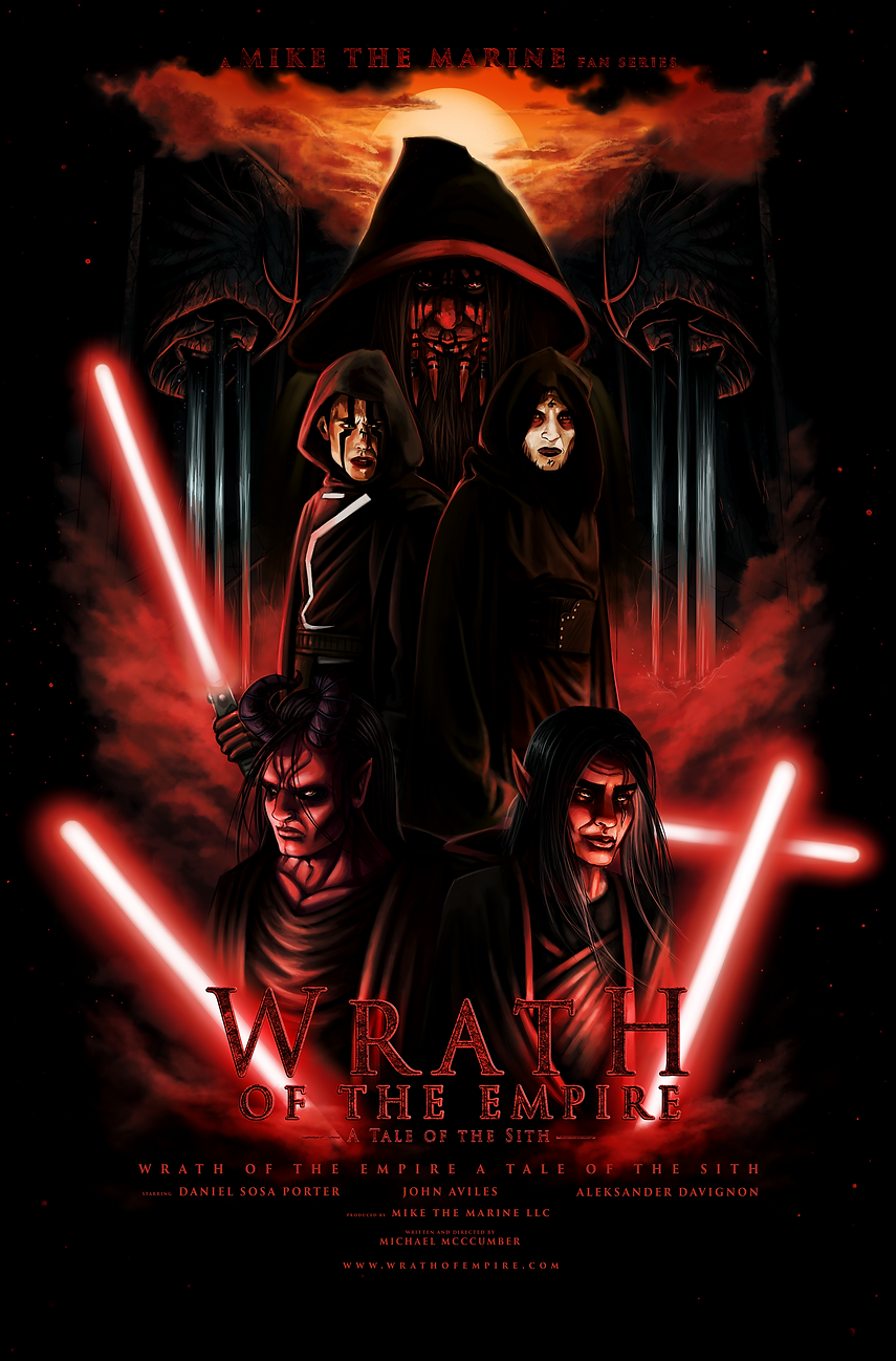 Wrath of the Empire Digital Poster