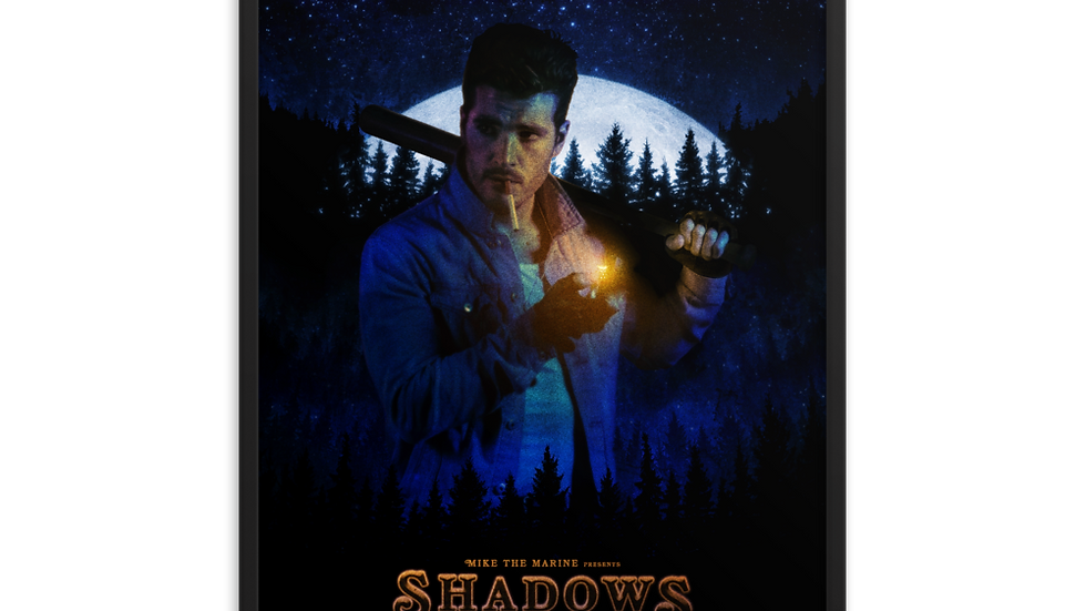 Shadow's Edge (2020) Jay's Movie Poster (Framed)