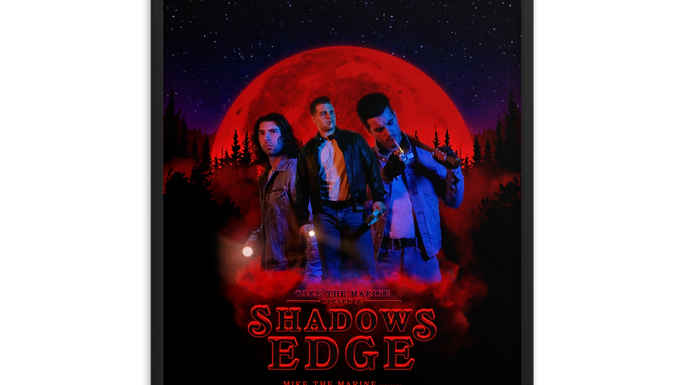Shadows Edge (2020) Official Movie Poster (Framed)