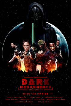 The Dark Resurgence Digital Poster