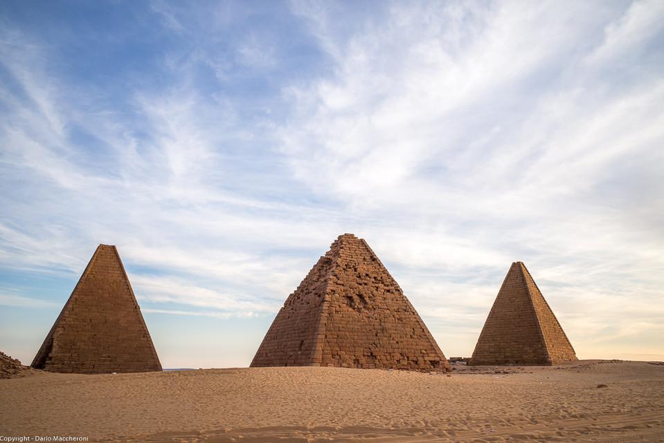 Barkal pyramids