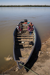 Waiting to cross the Nile