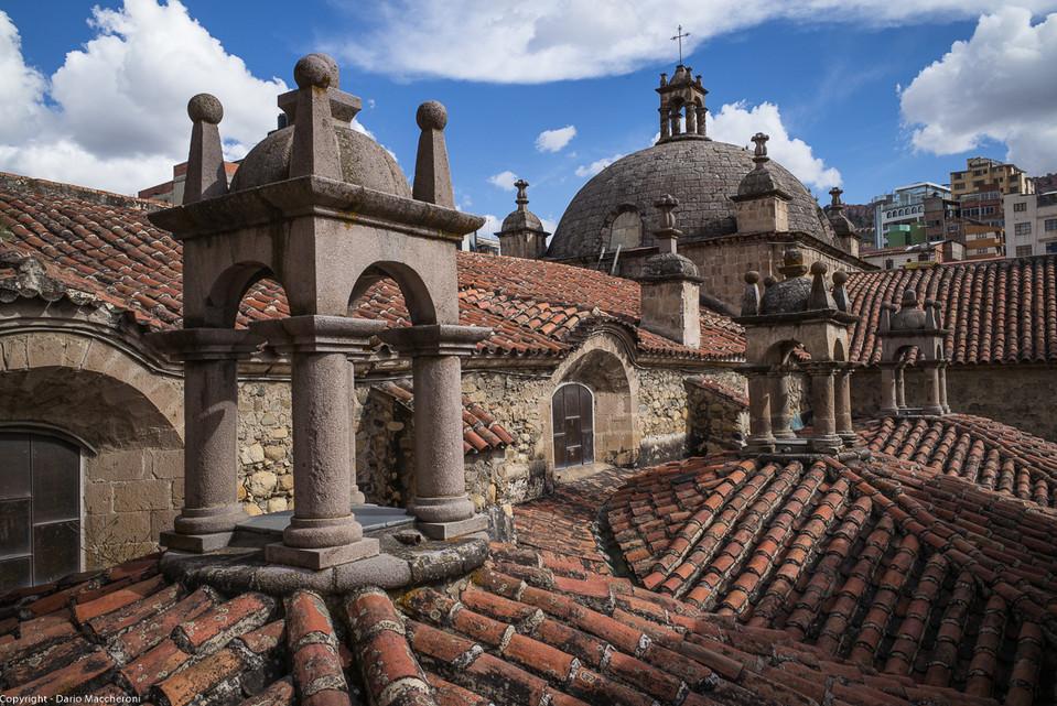 Roof top, Basílica de San Francisco