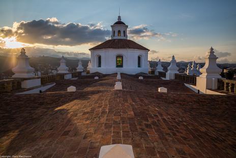 Roof top, Templo de San Felipe Neri