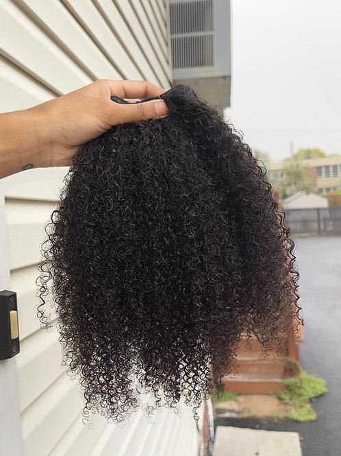 Raw kinky curly