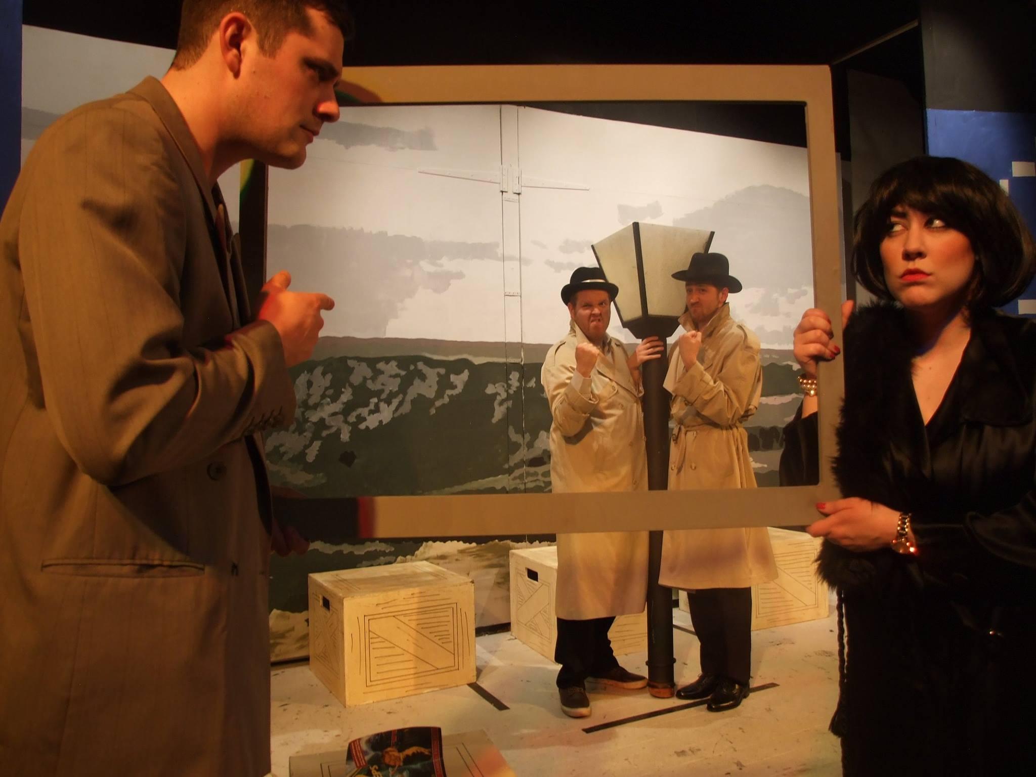 Richard Hannay, Annabella & Spies